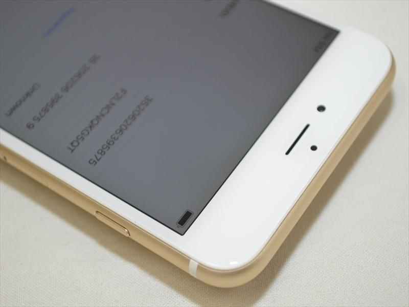 美品 Softbankデモ機 iPhone6 Plus 16GB ゴールド 3A062J/A 判定〇 バッテリー最大容量96% クリックポスト送料198円 19739_3