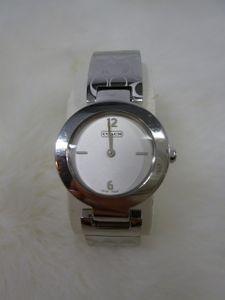 fff881c2e17f 動作OK☆コーチ腕時計☆COACH☆コーチ☆Coachシグネチャー腕時計0185☆レディース腕時