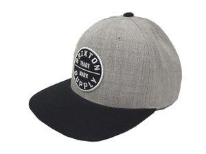 9656f8988ef Brixton ブリクストン ワッペン ウール混 ベースボール キャップ 帽子 グレー ブラック