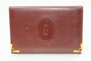 3f4cbd6c824d 1円~ カルティエ Cartier カードケース パスケース 名刺入れ ボルドー マストライン レ