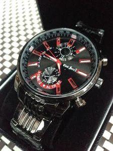 7e5f03af81 新作 希少 フルブラック タイプ 高級 人気 BLACK OCEANS メンズ 腕時計 ビジネス クォー