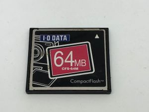 c9a27db3a1f0f IO DATA COMPACT FLASH コンパクトフラッシュ カード 64MB CFS-64M 送料82円