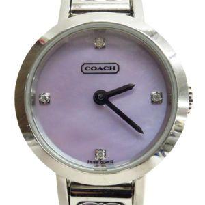 7c0d8c773d8e COACH(コーチ)腕時計 277 シグネチャー バングルウォッチ クオーツ レディース【Ce野