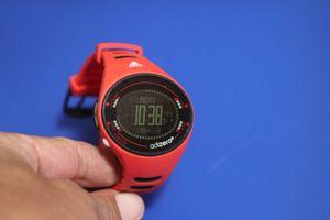 dc14168cb8 adidas adizero adp3512 ランニングウォッチ 腕時計 ジャンク品 赤