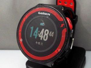 58997fd13a GARMIN/ガーミン ForeAthlete 220J GPS ランニングウォッチ/腕時計 □ 管NO.3WJ641ko