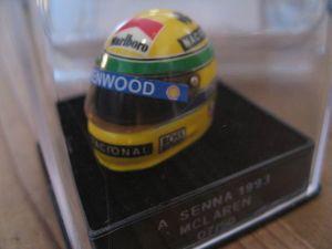 1:12 jf Creations williams Helmet senna 1994