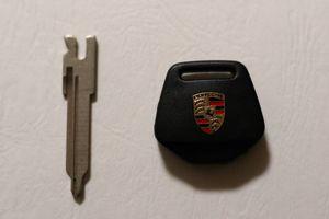 Porsche 911 G Key Head Body New LED Type /& Key Blank with Grey Key-fob