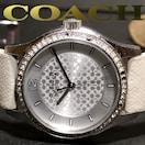 極レア 1スタ★コーチ/Coach【SIGNATURE】ジルコニア 腕時計