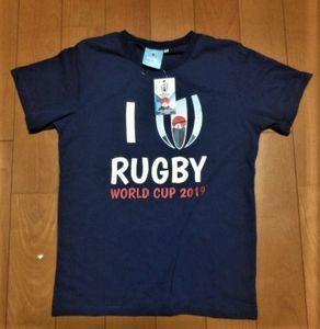 ラグビー ワールドカップ Tシャツ ★160cm 紺