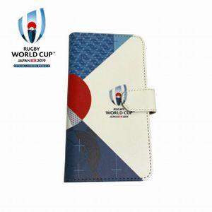 新品 ラグビーワールドカップ2019 日本大会 手帳型マルチスマホケース FUJ ...