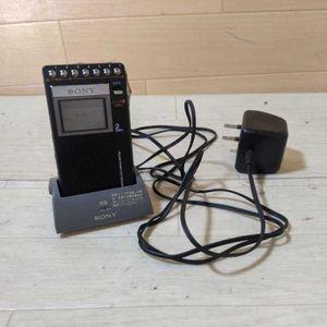 ★中古品 SONY ソニー ICF-R354MK 携帯ラジオ ポケットラジオ 2 ...