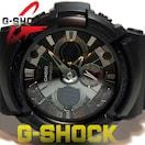 美品 1スタ★G-SHOCK【アナデジ】大型モデル BLACK メンズ腕時計