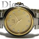 良品 1スタ★ダンヒル/dunhill【12Pダイヤ スイス】メンズ腕時計