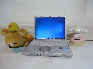 高性能CPU i7 最新Windows 10 小型 パナソニック CF-R9 メ ...