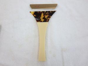 ふじ印 バチ 三味線 約全長23.5cm 開き14cm 収納ケース付