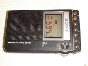 19431 sony ICF-R354 ラジオ 美品 ポケットラジオ ワイヤード ...