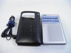 δSONY ICF-T46 ワイドFM/AM ポケットラジオ ソニー