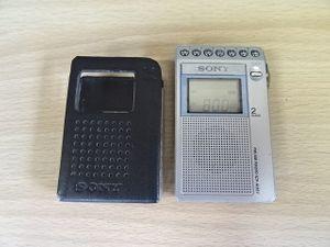5H161MZ◆SONY ICF-R351 動作品 イヤホン内蔵 FM/AM P ...