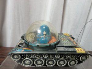 野村トーイ 鉄人28号 ブリキ 戦車
