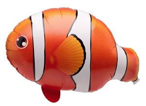 「バルーン 魚 ヘリウム」の画像検索結果
