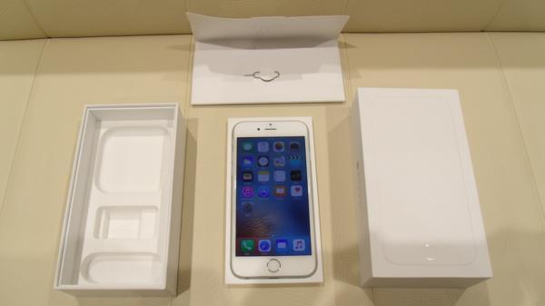 ★【中古】 iPhone 6S シルバー 64GB softbank 判定▲