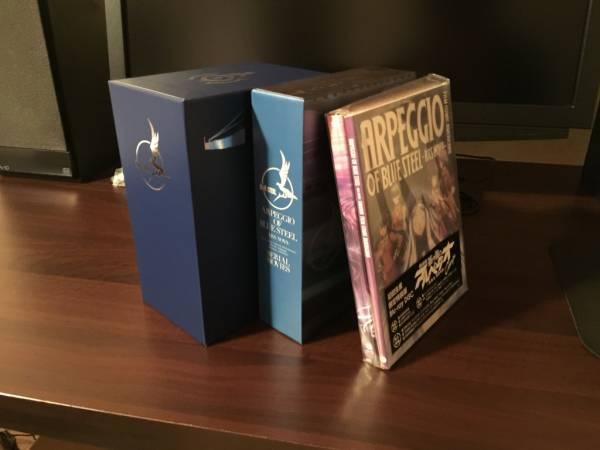 蒼き鋼のアルペジオ Blu-ray 全6巻+DC+Cadenza 初回限定版