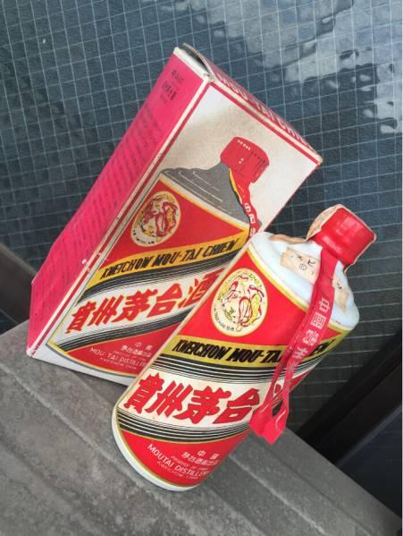 中国古酒 貴州茅台酒 天女ラベル マオタイ酒 未開栓 元箱