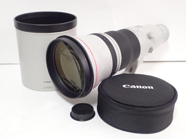 CanonレンズEF600mm F4L IS II USM フード付 キャノン⇔48E4A-1