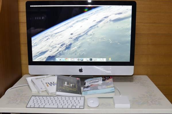 美品iMac 27inch Corei7 16GB+外付け2TB カメラマンモデル