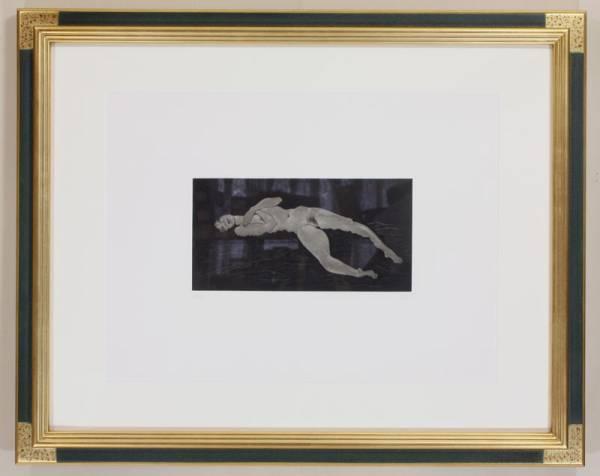 【出入大大吉】 加山又造 日本画家 小さな裸婦 25/95 エッチング