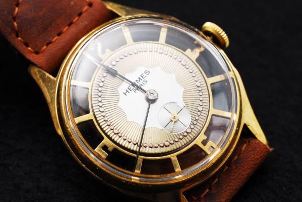 アンティーク HERMES(エルメス) 2トーン 手巻き腕時計