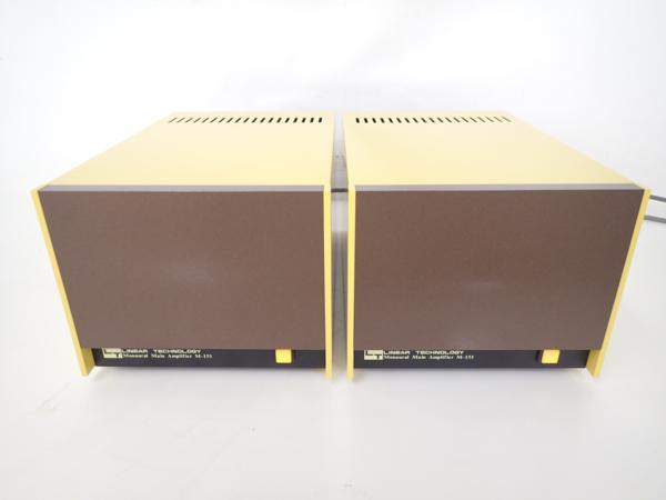 LINEAR TECHNOLOGY モノラルパワーアンプ M-151 ペア△4912B-2