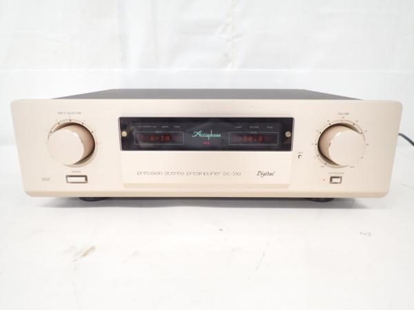 Accuphase デジタルプリアンプ DC-330 アキュフェーズ◆48E14-1