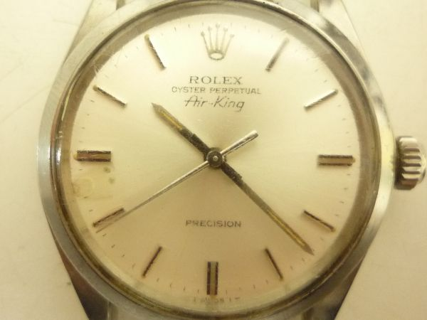 296 ROLEX ロレックス OYSTER Air-King cal1520 ref5500・G