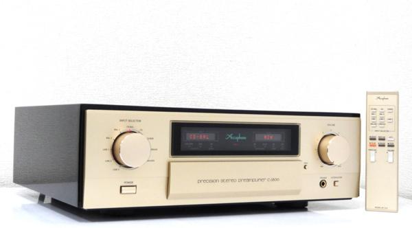 ■□Accuphase C-3800 プリアンプ アキュフェーズ 元箱付□■