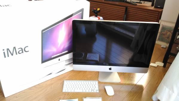 ジャンク Apple iMac 27inch Late 2009 MB953J/A